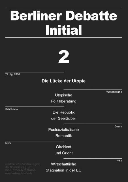 Cover von Die Lücke der Utopie. Kritik, Ermächtigung, Trost