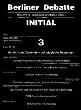 Ostdeutsche Zustände - politologische Deutungen