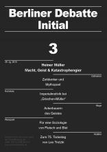 Heiner Müller: Macht, Geist & Katastrophengier