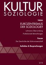 Eurozentrismus der Soziologie?