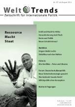 Ressource Macht Staat
